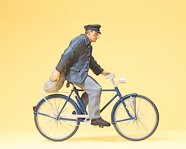 Preiser 45067 - G - Bauer mit Fahrrad