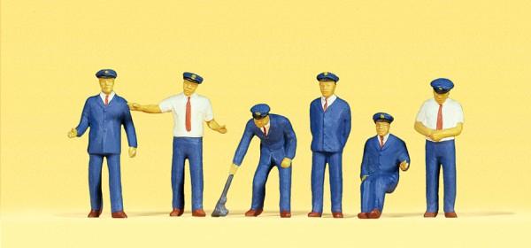 Preiser 10019 - H0 - Japanisches Bahnpersonal