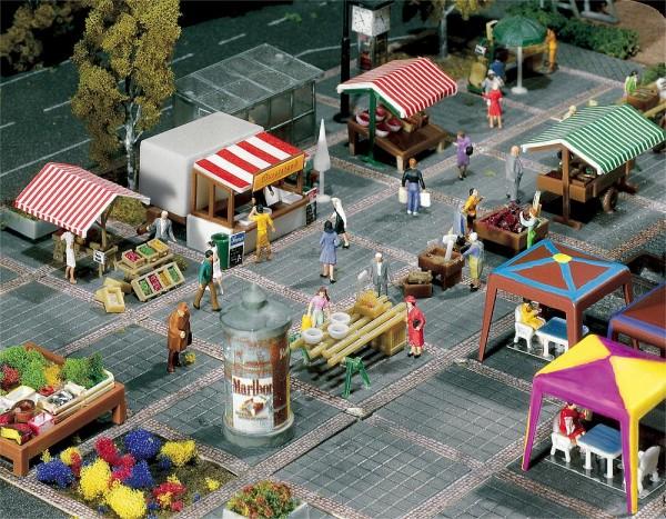 Faller 272533 - N - Wochenmarkt