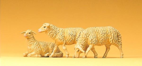 Preiser 47057 - 1:25 - 3 Schafe