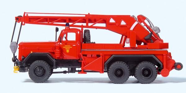Preiser 31269 - H0 - Kranwagen KW 16 F Magirus 250 D 25 A