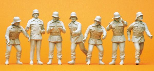 Preiser 57806 - Feuerwehrmänner im Einsatz BRD um 1985