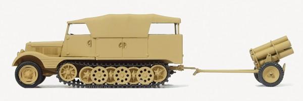 Preiser 16583 - H0 - Schwerer Nebelkraftwagen (SdKfz 11/5)
