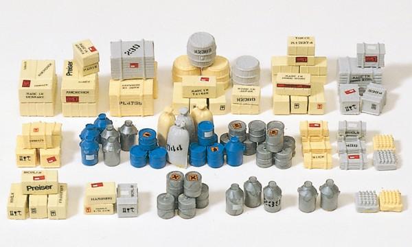 Preiser 17100 - H0 - Ladegut, 90 Teile