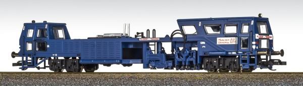 Fischer 26013103 - TT - Gleisstopfmaschine blau der DR