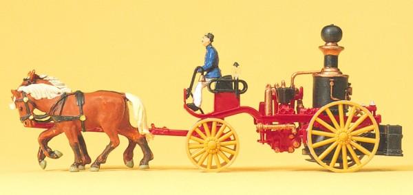 Preiser 30428 - H0 - Dampfspritze um 1900