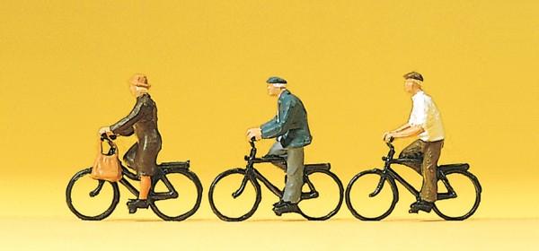 Preiser 10333 - H0 - Radfahrer