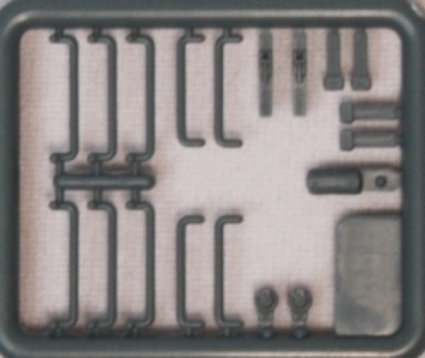 Hädl 912001-03 - TT - Zurüstteile für gedeckte Güterwagen grau