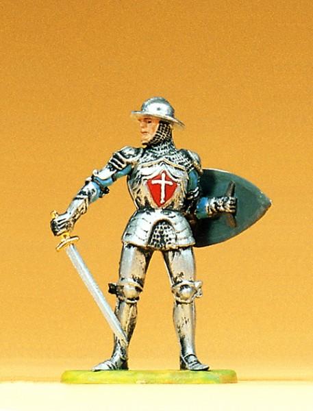 Preiser 52002 - 1:25 - Ritter mit Schwert