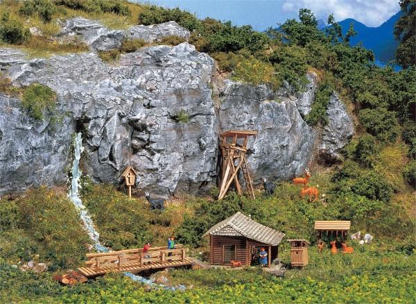 Faller 272532 - N - Jägerhütte mit Hochsitz