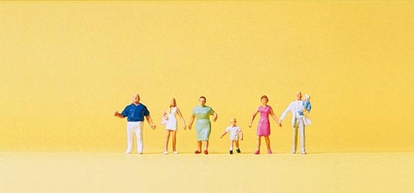 Preiser 79182 - Familie Krause beim Spaziergang