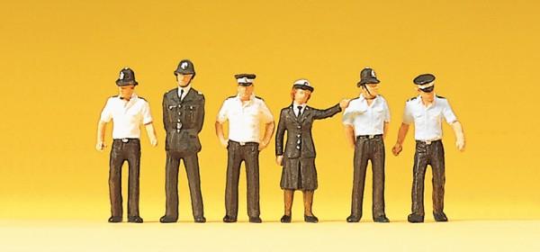 Preiser 10371 - H0 - Polizisten Großbritannien