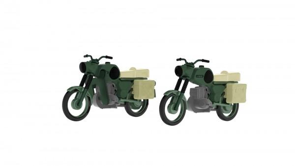 Kres 11271 - TT - 2x Komplettmodelle MZ TS 250 NVA