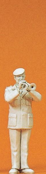 Preiser 64358 - 1:35 - Musiker mit Trompete