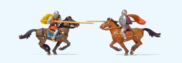 Preiser 24763 - H0 - Ritterturnier zu Pferd