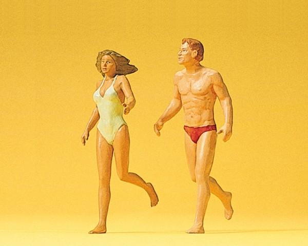 Preiser 45018 - Laufendes Paar am Strand