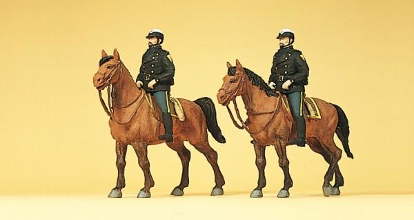Preiser 10397 - Berittene Polizei USA
