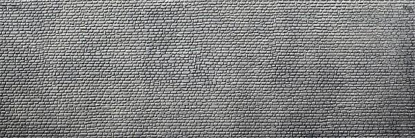 Faller 272592 - N - 2 x Dekorplatte Naturstein-Quader, 370 x 125 x 4 mm
