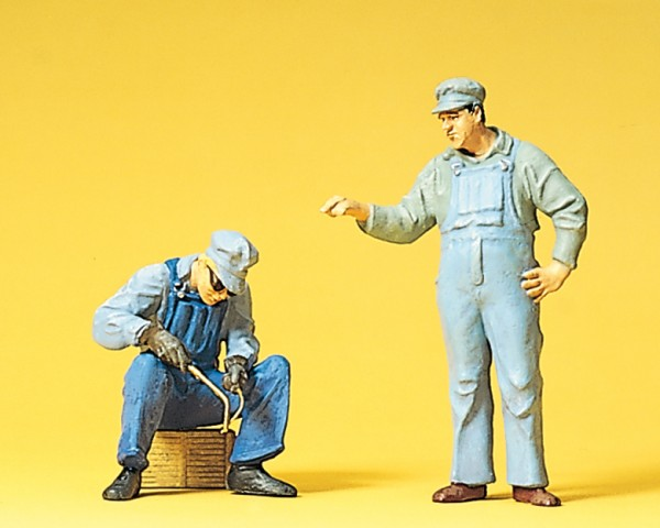 Preiser 45075 - G - US-Gleisbauarbeiter