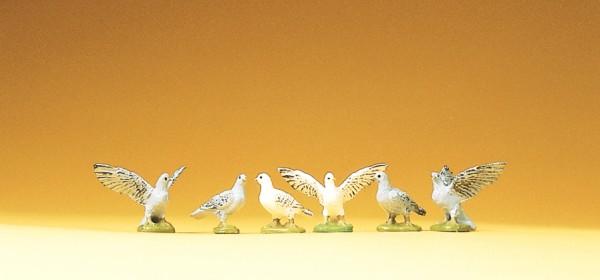 Preiser 47084 - 6 Tauben