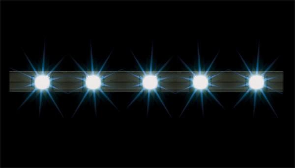 Faller 180648 - 2 LED-Lichtleisten, weiß