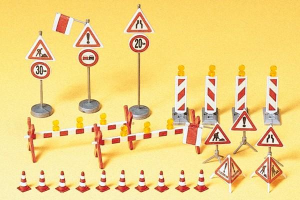 Preiser 17176 - H0 - Verkehrs- und Arbeitssicherheit