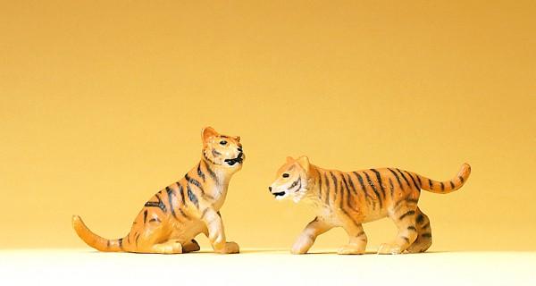 Preiser 47513 - 1:25 - 2 junge Tiger