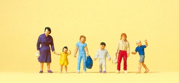 Preiser 14041 - H0 - Gehende Frauen mit Kinder