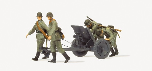 Preiser 16602 - H0 - Panzerabwehrkanone 3,7 PAK