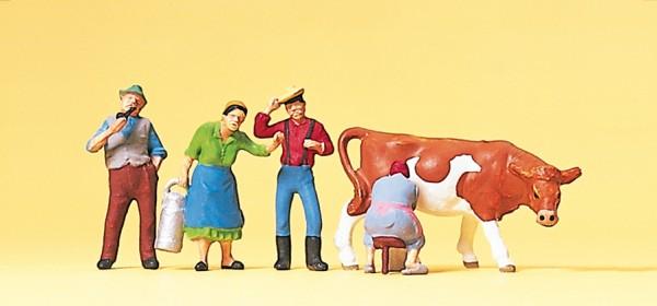 Preiser 10044 - H0 - Auf dem Bauernhof