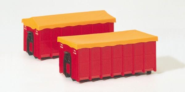 Preiser 31019 - Container mit Plane für Abrollkipper