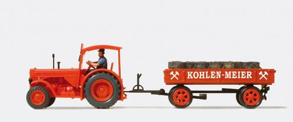"""Preiser 38041 - H0 - Kohlenwagen """"Meier"""""""