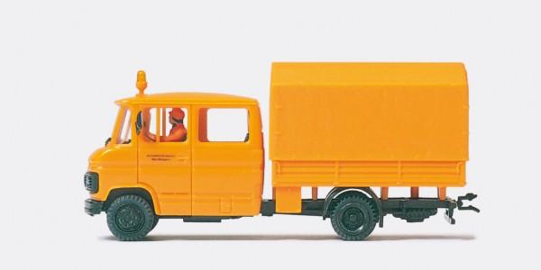 Preiser 37018 - H0 - Lastkraftwagen Straßenmeisterei Doppelkabine
