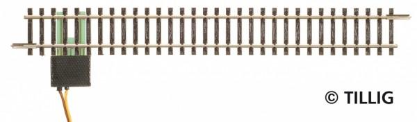 Tillig 83143 - TT - 1x gerades Anschlussgleis analog - 166,0 mm