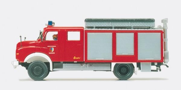 Preiser 35006 - H0 - Rüstwagen RW-Öl MAN 11.168 HALF