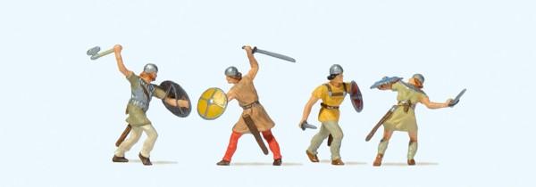 Preiser 24762 - H0 - Kämpfende Ritter