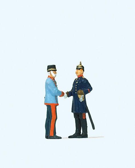 Preiser 29085 - H0 - Kaiser Wilhelm II und Kaiser Kranz Joseph