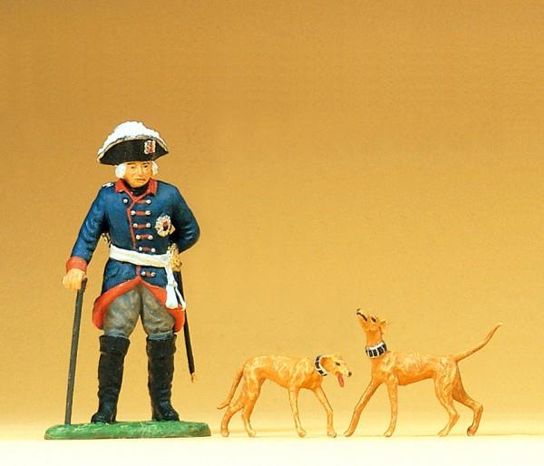 Preiser 54101 - 1:25 - Friedrich II. von Preußen stehend