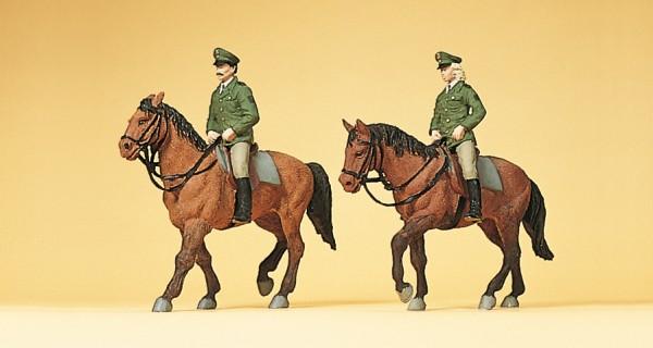 Preiser 10390 - H0 - Berittene Polizisten Deutschland