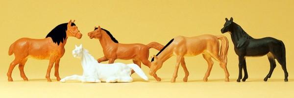 Preiser 14150 - H0 - Pferde