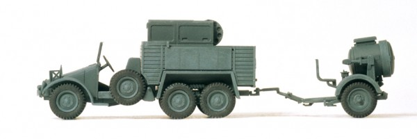Preiser 16584 - H0 - Scheinwerferkraftwagen Kfz 83 Krupp