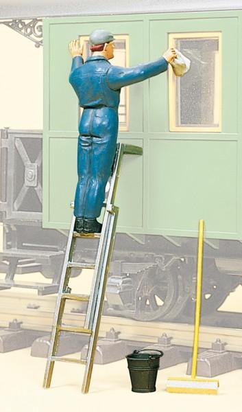 Preiser 45505 - G - Wagenwäsche