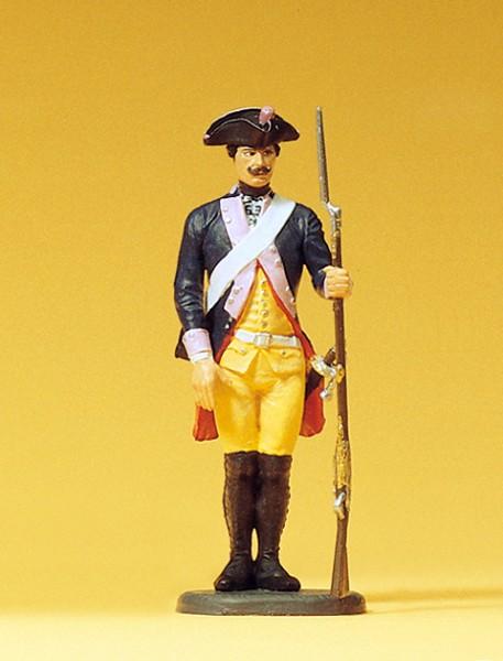 Preiser 54118 - 1:24 - Musketier stehend Gewehr ab