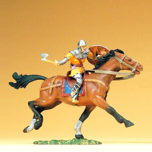 Preiser 50940 - 1:25 - Normanne reitend mit Schlachtbeil