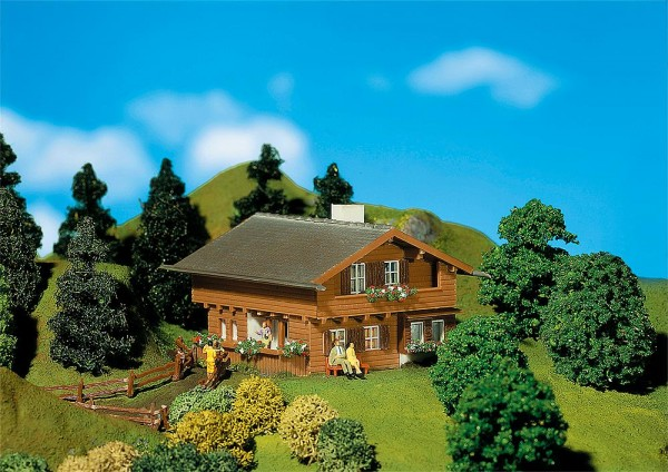 Faller 232237 - N - Haus Enzian, 6,5 x 6,4 x 4,8 cm
