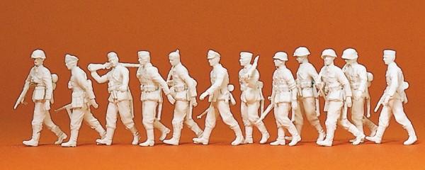 Preiser 16519 - H0 - Vorgehende Infanterie