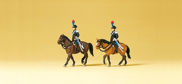 Preiser 79151 - Carabinieri zu Pferd