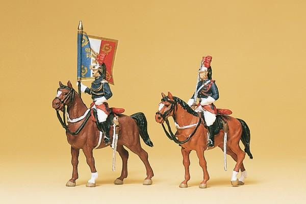 Preiser 10460 - Garade Républicaine zu Pferd