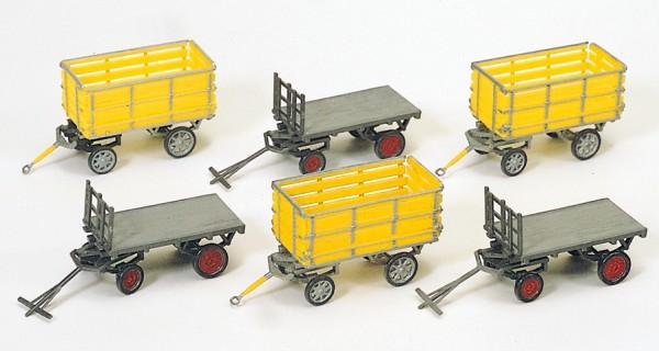 Preiser 17112 - H0 - Postwagen