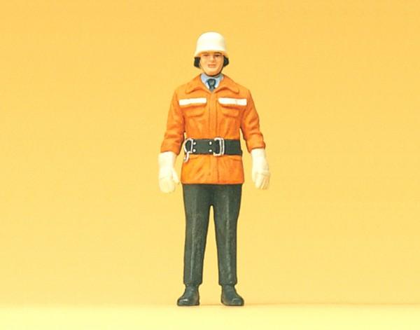 Preiser 57550 - 1:24 - Feuerwehrmänner der BRD um 1985